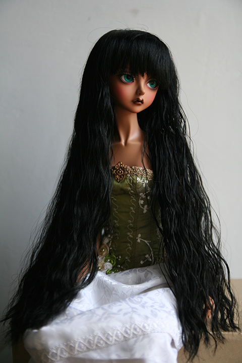 "[VDS] Wigs LUTS,FOR MY DOLL,CROBI de 7"" à 10""/Yeux 8 à 18mm  Wig14"